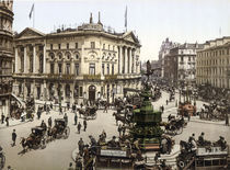London, Piccadilly Circus / Photochrom von AKG  Images