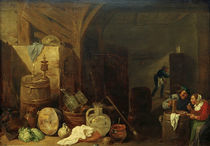 D. Teniers d.J., Abendessen in der ... by AKG  Images