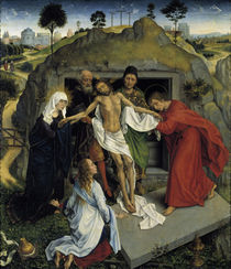 Rogier v.d.Weyden, Beweinung Christi by AKG  Images