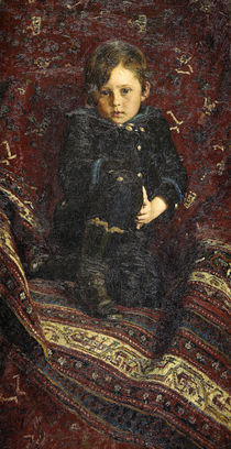 I. Repin, Bildnis Juri Repin als Kind by AKG  Images