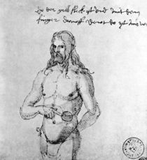 Albrecht Duerer, Selbstbildnis krank von AKG  Images