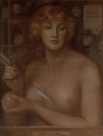D.G.Rossetti, Venus Verticordia /Pastell by AKG  Images