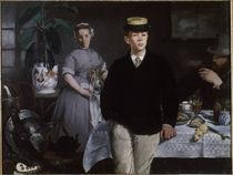 E.Manet, Das Fruehstueck im Atelier von AKG  Images