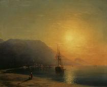 I.K.Aiwasowski, Sonnenuntergang Ajudag von AKG  Images