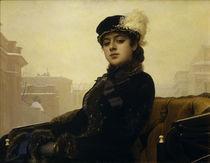 I.N.Kramskoi/ Die Unbekannte/ 1883 von AKG  Images