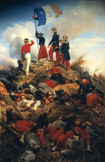 Erstuermung Malakoff 1855 / Gem.v.Vernet by AKG  Images