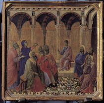 Duccio, Zwoelfjaehriger Jesus im Tempel by AKG  Images