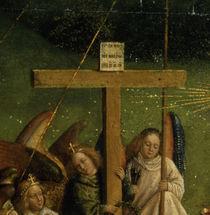 J.v.Eyck, Genter Altar, Leidenswerkzeuge by AKG  Images