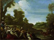 Guercino, Landschaft mit Musizierenden by AKG  Images