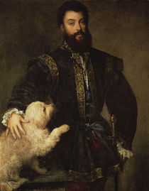Federigo II. Gonzaga / Tizian by AKG  Images