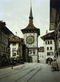 Bern, Zeitglockenturm / Photochrom von AKG  Images