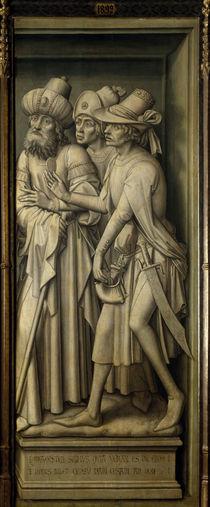 Rogier v.d.Weyden, Pharisaeer mit Zinsgr. von AKG  Images