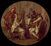 J.H.Fragonard zugeschr., Quartett by AKG  Images