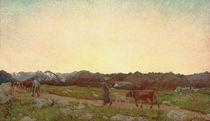 G.Segantini,Natur (Alpen Triptychon) von AKG  Images