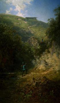 C.Spitzweg, Der Urlauber von AKG  Images