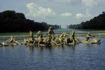 Versailles, Schlosspark, Bassin d'Apollon von AKG  Images