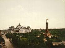 Berlin, Reichstag / Foto 1898 von AKG  Images