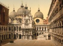 Venedig, Innenhof / Photochrom by AKG  Images