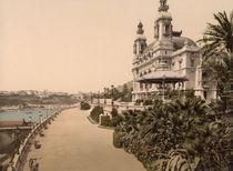 Monte Carlo, Casino / Foto um 1895 von AKG  Images