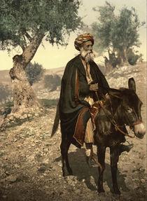 Alter Mann aus Bethlehem / Photochrom von AKG  Images