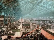 Paris, Weltausst.1889 / Maschinenhalle von AKG  Images