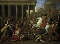 Poussin, Zerstoerung d. Tempels Jerusalem von AKG  Images