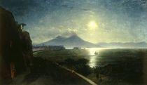 Neapel mit Vesuv/ Gem.v.Aiwasowski by AKG  Images