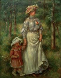 Renoir / La promenade / um 1906 by AKG  Images
