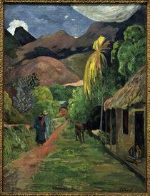 P.Gauguin, Strasse ins Gebirge von AKG  Images