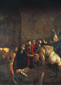 Caravaggio, Begraebnis Hl.Lucia von AKG  Images