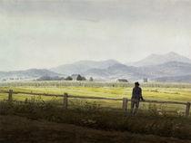 C.D.Friedrich, Schmiedeberger Kamm/1837 von AKG  Images