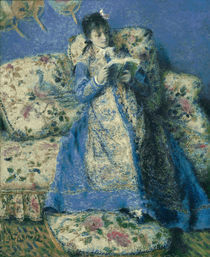 A.Renoir, Madame Monet lesend by AKG  Images