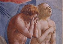 Masaccio, Vertreibung aus Paradis, Auss. by AKG  Images