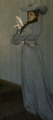 O. Zwintscher,Bildnis in grauer Toilette von AKG  Images