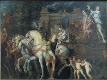 Triumph Caesars / Rubens nach Mantegna by AKG  Images
