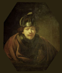 Rembrandt, Selbstbildnis, Kassel von AKG  Images