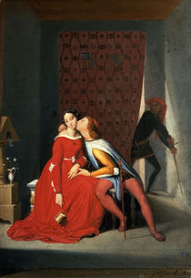 J.A.D.Ingres, Paolo und Francesca/1850 by AKG  Images