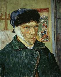 van Gogh, Selbstbildnis mit verbund. Ohr by AKG  Images