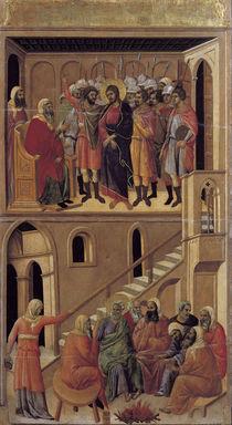 Duccio, Hannas und Petri Verleungung von AKG  Images