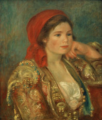 A.Renoir, Maedchen mit spanischer Jacke by AKG  Images