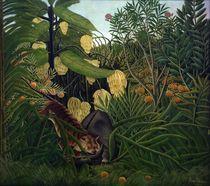 H.Rousseau,Kampf zwischen Tiger u.Bueffel by AKG  Images