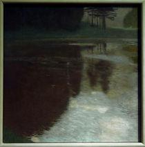 Gustav Klimt, Morgen am Teiche by AKG  Images