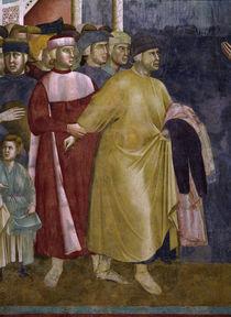 Giotto, Franziskus sagt sich los / Det. by AKG  Images