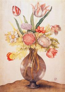 G.Garzoni, Tulpen, Mohn u.Paeonie von AKG  Images