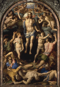 A.Bronzino, Auferstehung Christi by AKG  Images