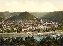 Schandau, Ansicht / Photochrom by AKG  Images