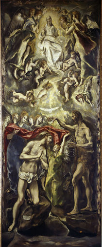 El Greco, Taufe Christi by AKG  Images