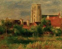 A.Renoir, Die Kirche von Essoyes von AKG  Images