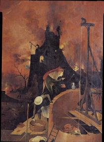 H.Bosch, Die Hoelle, Ausschnitt von AKG  Images