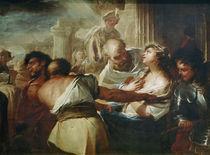 L.Giordano, hl.Lucia z.Martyrium gefuehrt by AKG  Images